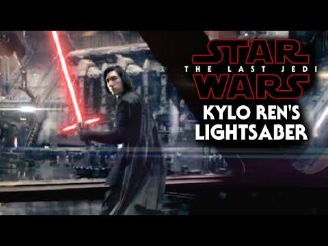 Download Youtube: Kylo Ren's Lightsaber NEW Detail Revealed! - Star Wars The Last Jedi