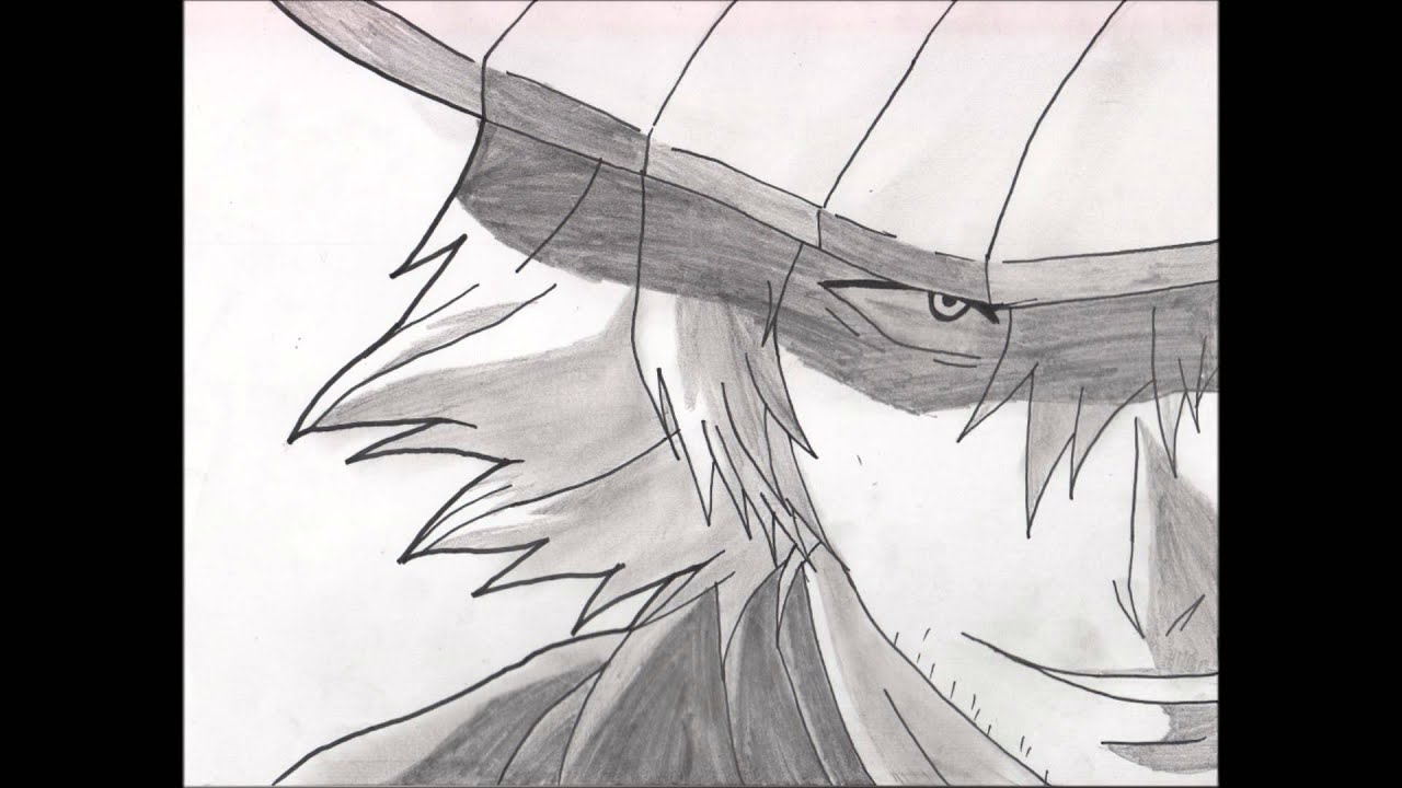 dessin de Kisuke Urahara dans bleach - YouTube