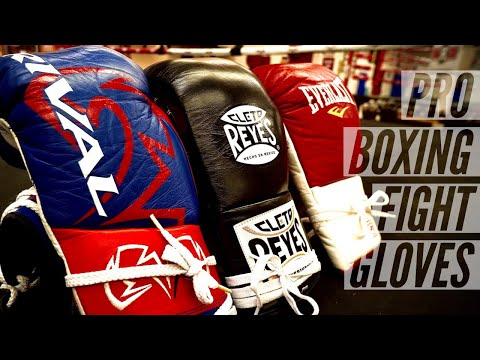 TOP Pro Boxing Fight Gloves For Training (That I Have In Possession, Not Overall)