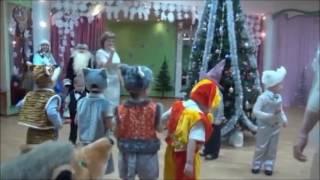 Новый год в детском саду. Танец с маракасами