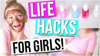Beauty Life Hacks for Girls!!