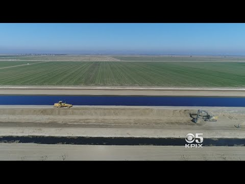 Agricultural Demand For Water Has California's Central Valley Sinking Fast