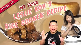 We Tried Out Rice Cooker Man's Recipes   Eatbook Cooks   EP 38