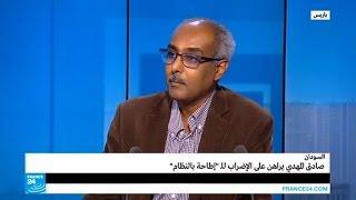 السودان.. صادق المهدي يراهن على الإضراب للـ