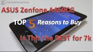 aSUS Zenfone 4 (A450CG) vs ASUS Zenfone 4 (A400CG)- Detailed Comparison