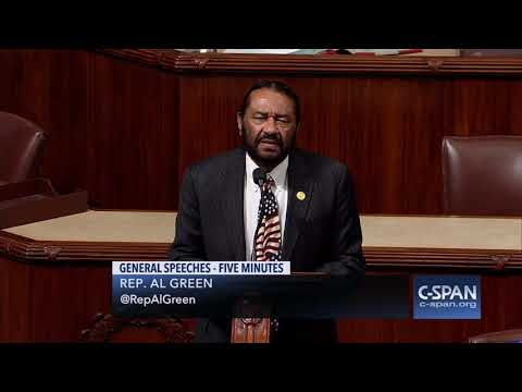 "Rep. Al Green: ""Impeachment will be voted on before Christmas."" (C-SPAN)"