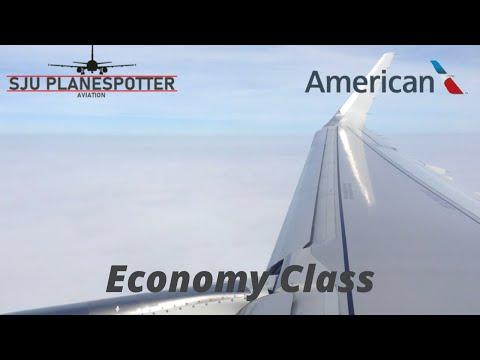 American A321S San Juan to Dallas FT Worth