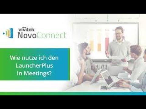 Vivitek NovoConnect -  LauncherPlus - Direkte drahtlose Präsentationen