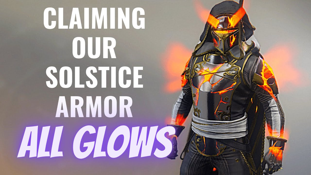 Destiny 2: Solstice of Heroes 2020 - Hunter Armor Showcase (Claiming our new armor) All Glows!