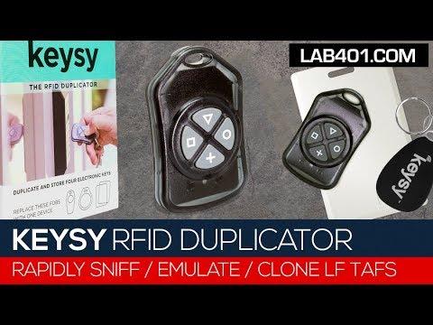 Keysy LF RFID Emulator & Duplicator – Lab401