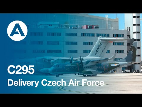 Delivery C295 Czech Air Force