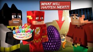 Realistic Minecraft Hello Neighbor - Robins Birthday & The Neighbors Egg is HATCHING!!!!