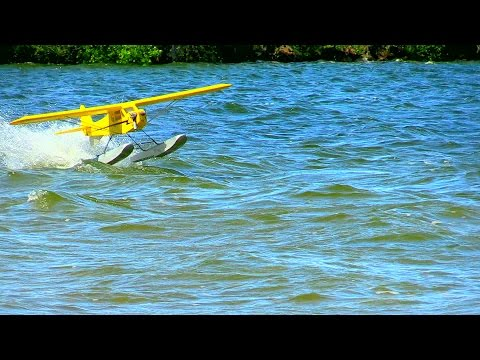 Spills and Thrills - Crow River R/C Aeromodelers Float Fly 2015 - Howard Lake, MN - March 30, 2015