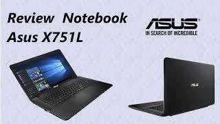 Review Notebook Asus X751L | Português BR