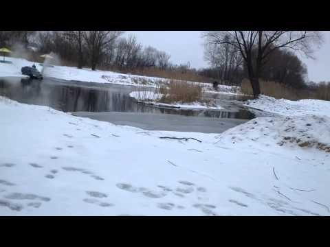 Искупался в реке Сухая Россошь на иномарке