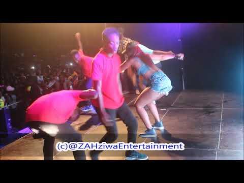 Babes WoDumo & Madanone Mngani wami, Mercedes   Lit F iNK Live Performance