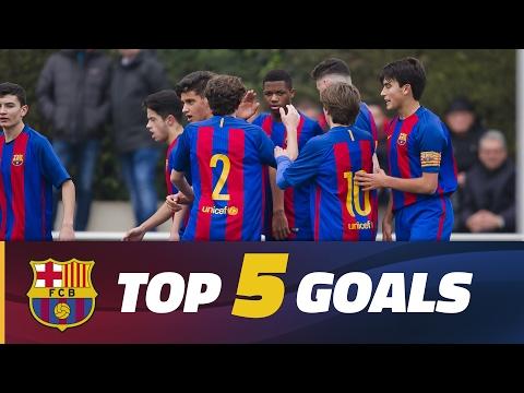 FCB Masia-Academy: Top goals 11-12 February