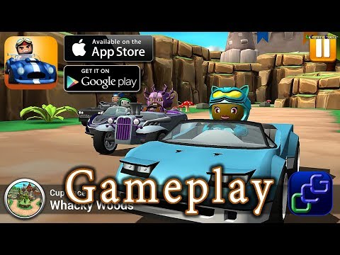 Rev Heads Rally iOS Gameplay