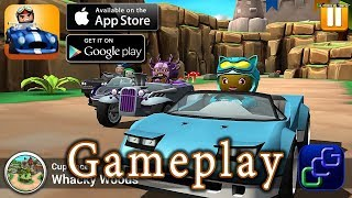 Rev Heads Rally iOS Gameplay