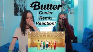BTS (방탄소년단) 'Butter (Cooler Remix)' Official MV REACTION!