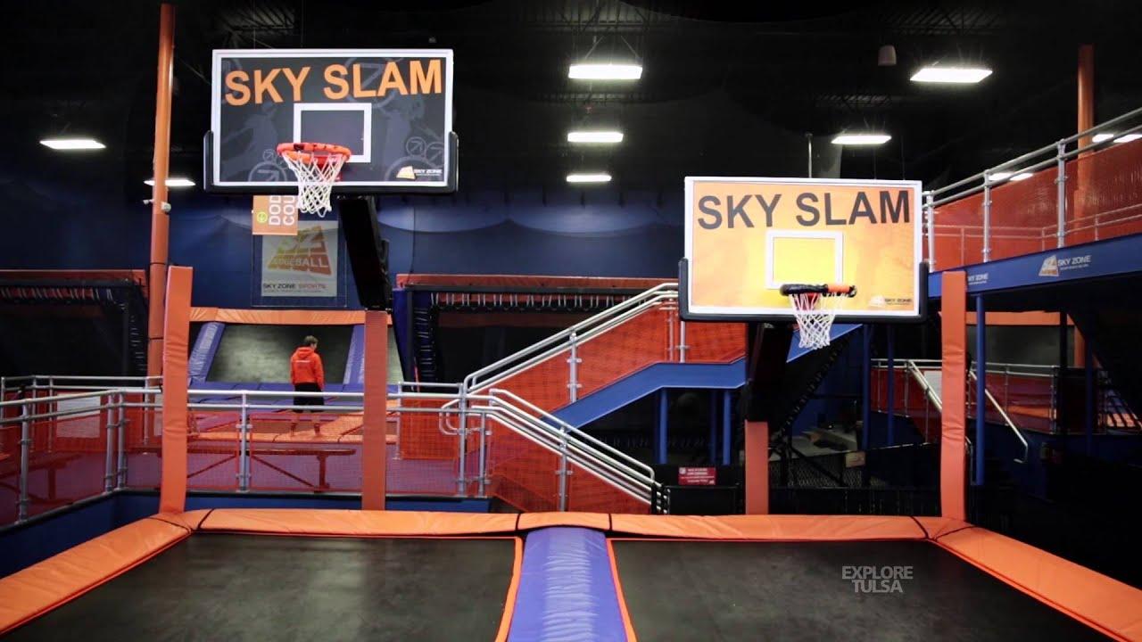 Sky Zone Indoor Trampoline Park Youtube