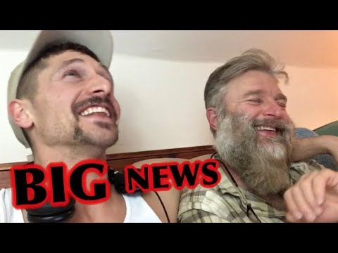 WE HAVE BIG NEWS! (UNCUT VIDEO)