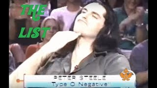"TYPE O NEGATIVE - Peter Steele on VH1's ""The List"" (FULL EPISODE)"