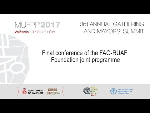 Final conference of the FAO-RUAF Foundation joint programme