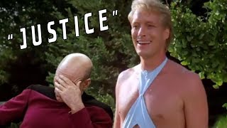 """""""Justice"""" - Getting Off Trek (Worst Episodes of Star Trek: The Next Generation)"""