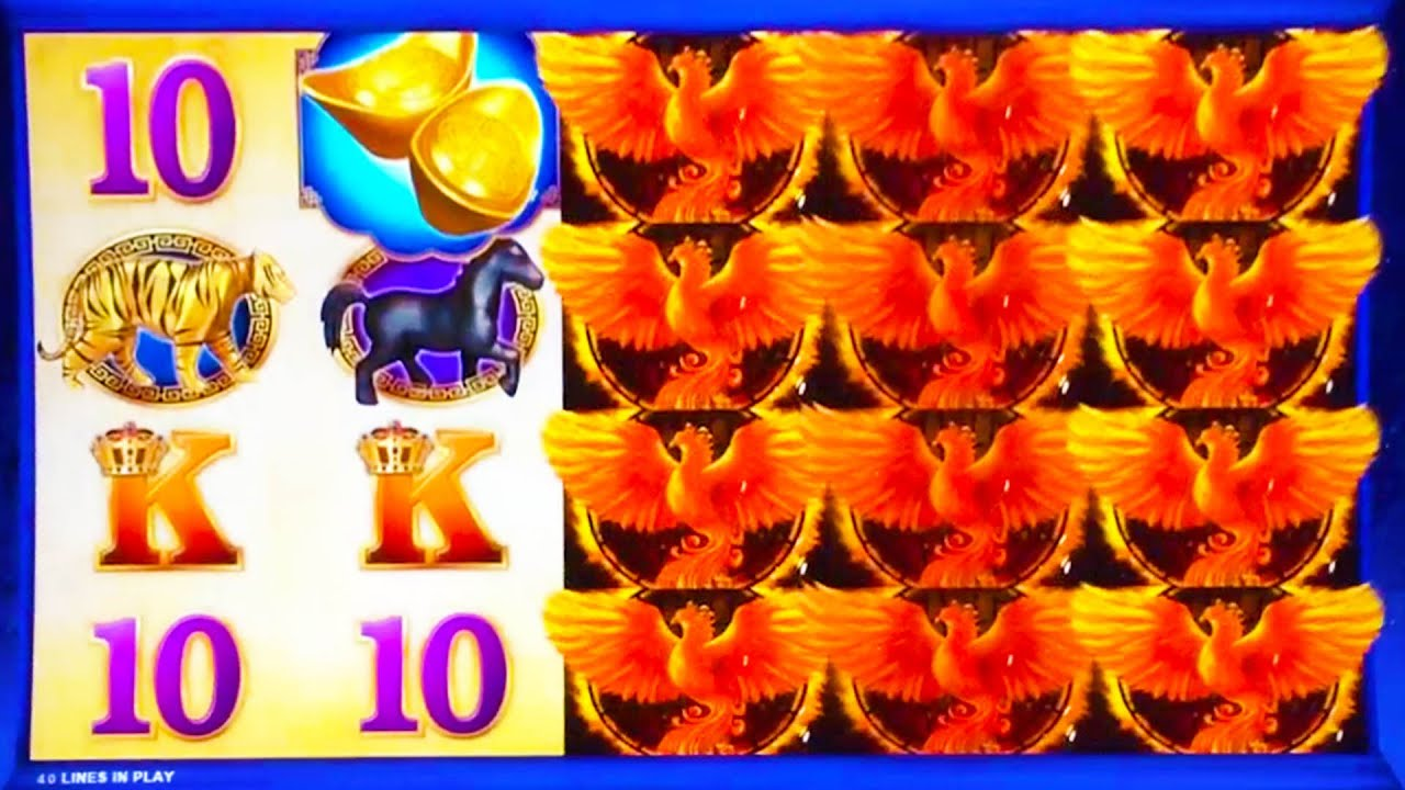 red phoenix slot machine videos