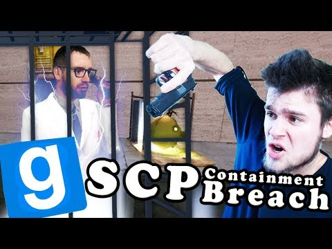ZNĘCAMY SIĘ NAD NAUKOWCEM W PUŁAPCE! | SCP: Containment Breach [#84] Garry's mod [#770]