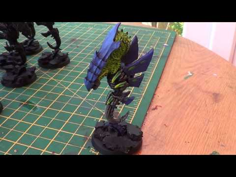Tyranid update and nid Knight part 1