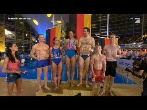 Top 3  - Synchronspringen - TV total Turmspringen