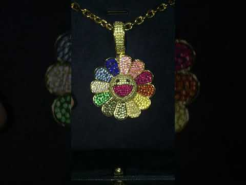 Custom Spinning Murakami Flowers