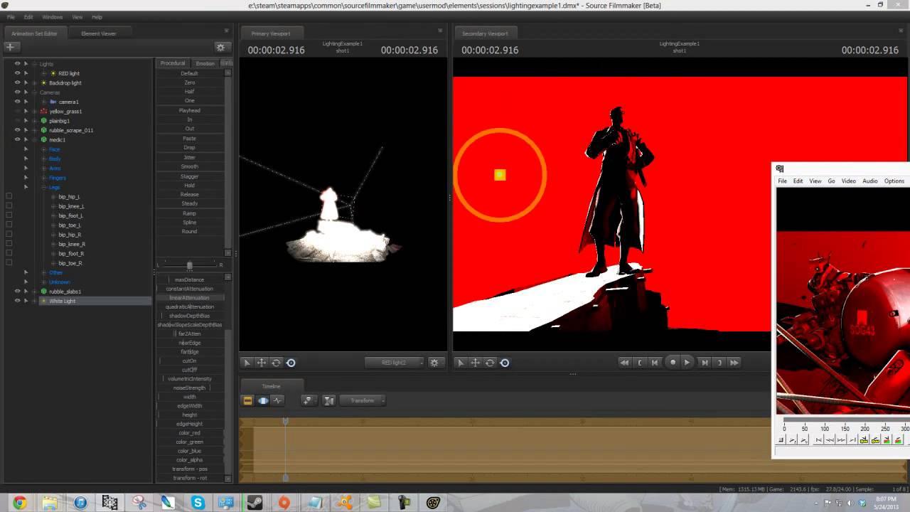 Sfm Tutorial Stylized Lighting Youtube