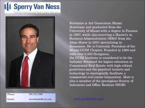 Jerry Anderson & Matt Rotolante of Sperry Van Ness talk Florida Ports Real Estate!