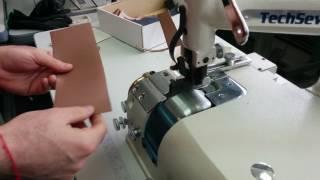 Techsew SK-4 Leather Skiving Machine - Sample MR 1/2