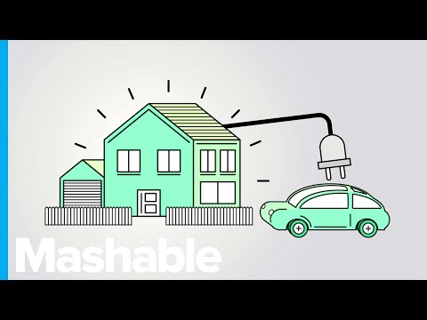 How Electric Vehicle Batteries Could Be Used to Power Entire Cities
