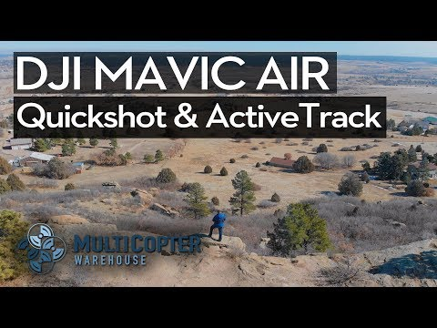 DJI Mavic Air - Dronie, Asteroid, Boomerang, and ActiveTrack *COOL LOCATION TEST*
