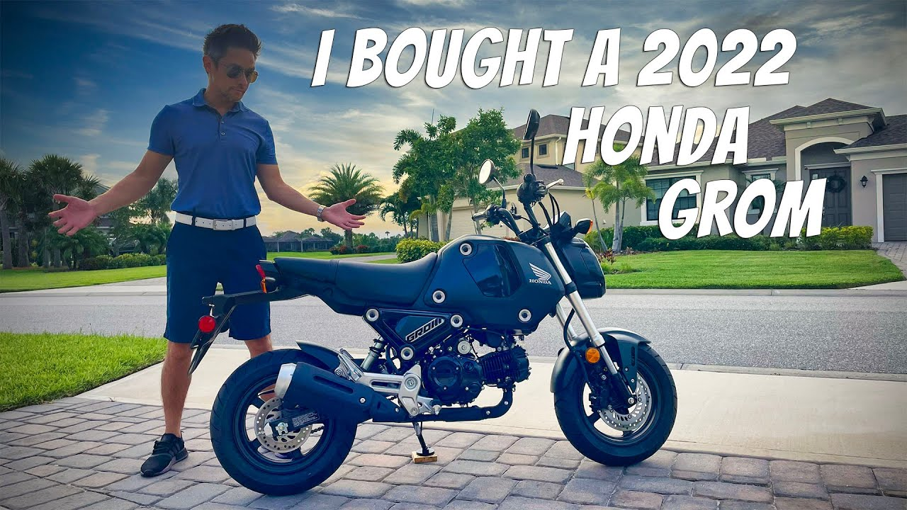 Download I bought the 2022 Honda Grom!