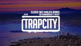 Repeat youtube video The Chainsmokers ft. Halsey - Closer (Wiz Khalifa Remix)