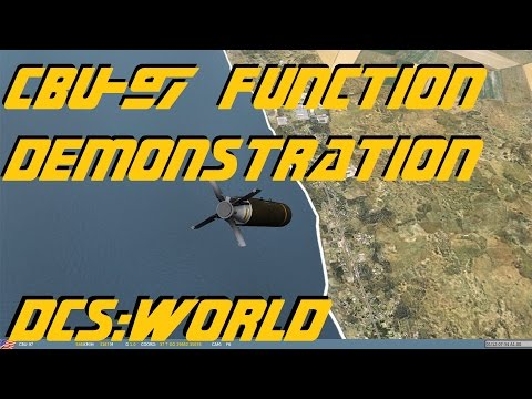 DCS:World » CBU-97 Function Demontration