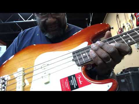 American Professional Jazz: Crazy Lightweight 7 Lbs. And Bright Toned!
