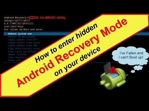 How to Rest your Android box using Android Recovery Mode