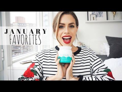 My January 2017 Favorites (Beauty + Fashion + Health & Fitness)