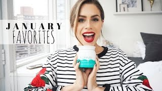 My January 2017 Favorites (Beauty + Fashion + Health & Fitness)