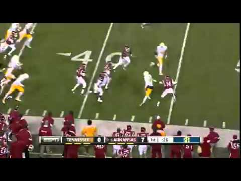 Joe Adams amazing punt return