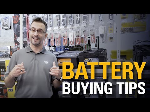 Car Batteries | NAPA Shopping Know How
