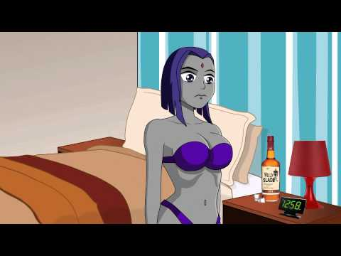 Beastboy and raven hook up