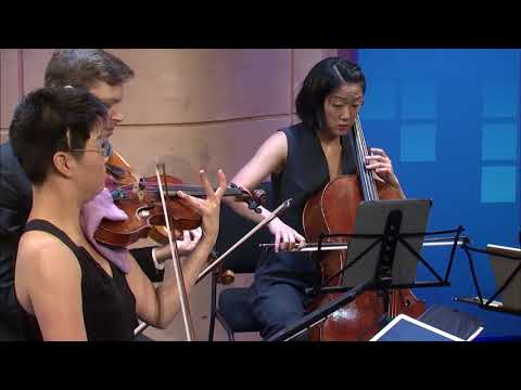 "Argus Quartet performs ""This is My Scary Robot Voice"" (Kerrith Livengood)"